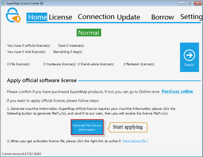 license windows file